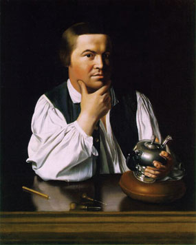 Paul Revere by John Singleton Copley Museum of Fine Arts, Boston