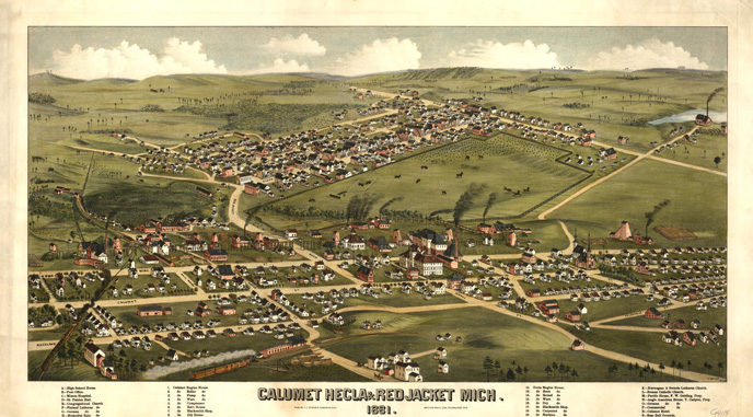 historic calumet map