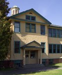 The former Chassell Elementary School built in 1917 is now home to the Chassell Heritage Center. Click here to visit their website.