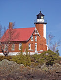 Visitors can tour the keeper's quarters at the Eagle Harbor Lighthouse, now part of the Keweenaw County Historical Society. Click here to visit their website.