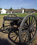 Soldiers garrisoned at Fort Wilkins provided order during the early days of the copper mining rush. Click here to visit their website.