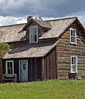 The main house at Hanka Homestead lets visitors see what life was like for Finnish immigrant farmers in the early 1900s.