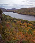 Lake of the Clouds is one of the scenic areas located in Michigan's Porcupine Mountains Wilderness State Park. Click here to visit their website.