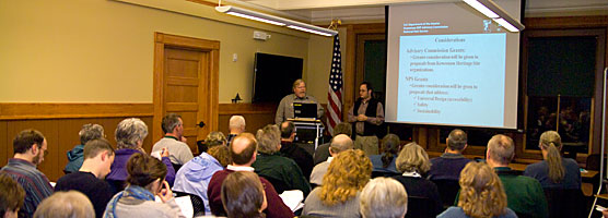 Attendees at a 2010 Heritage Grant Workshop