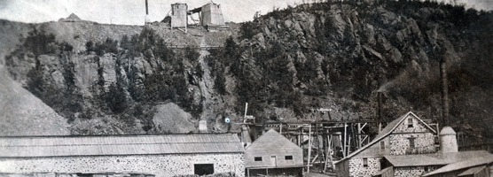 Cliff Mine, the first profitable copper mine on the Keweenaw Peninsula