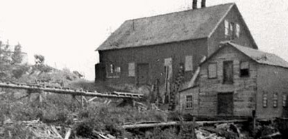 historic photo: Nonesuch mill