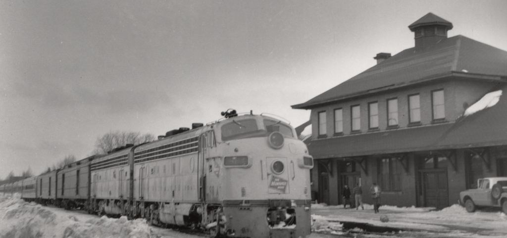Last Train out of Calumet in 1968.