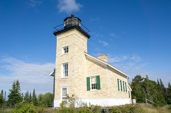 The Copper Harbor Lighthouse