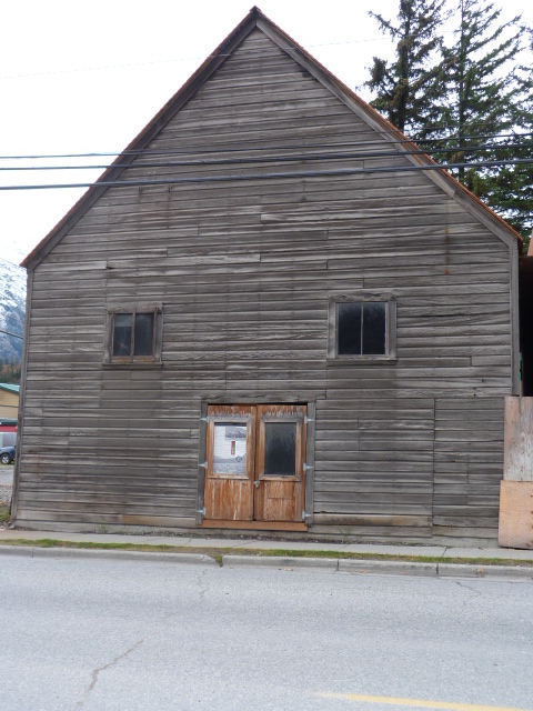 Modern photo of historic Skagway YMCA building