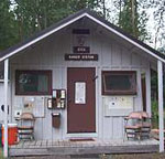 Modern photo of Dyea Ranger Station