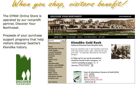 Discover Your Northwest Online Store screenshot