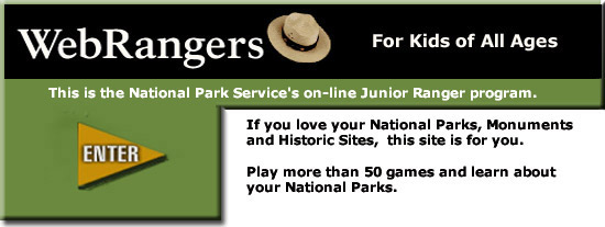 Web Ranger site for kids