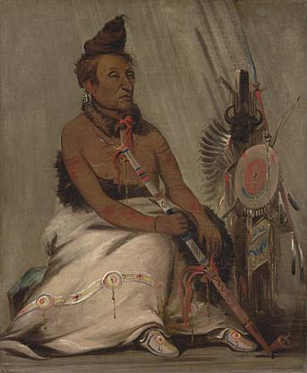 Portrait of Eh-toh'k-pah-she-pée-shah or Black Moccasin