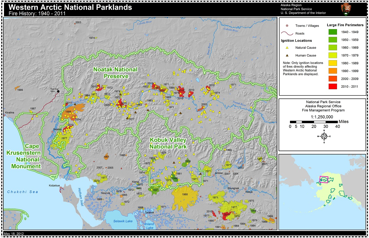 Fire History in the Western Arctic National Parklands