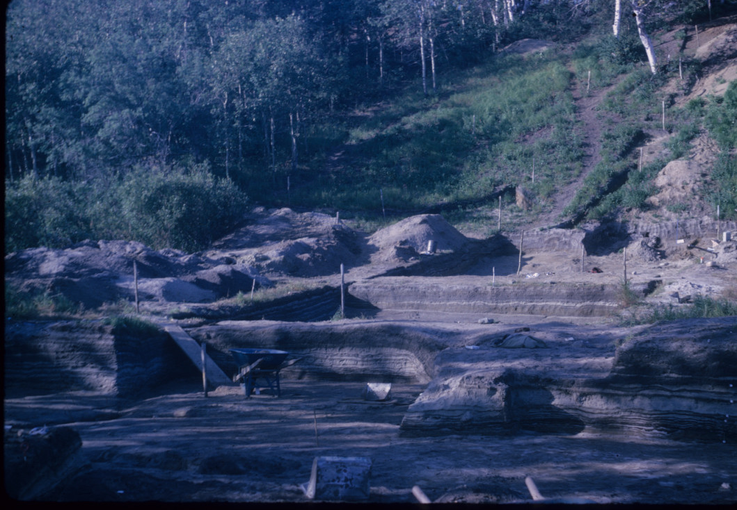 Excavation in process 1967
