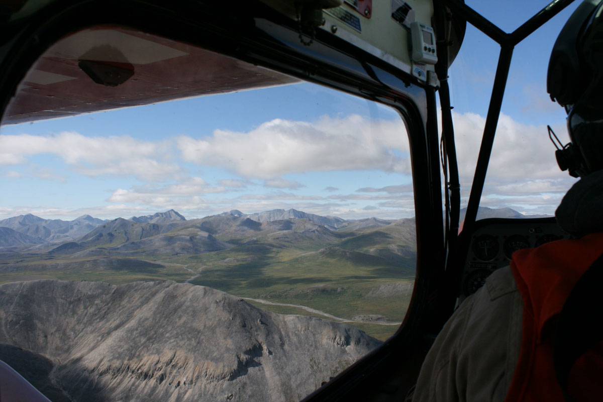 Backcountry flying | NPS Photo, T. Federal