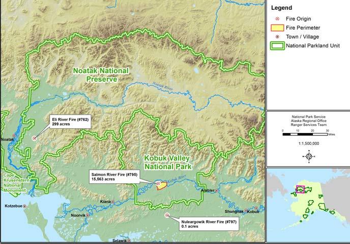 Current Fire Information Kobuk Valley National Park US National