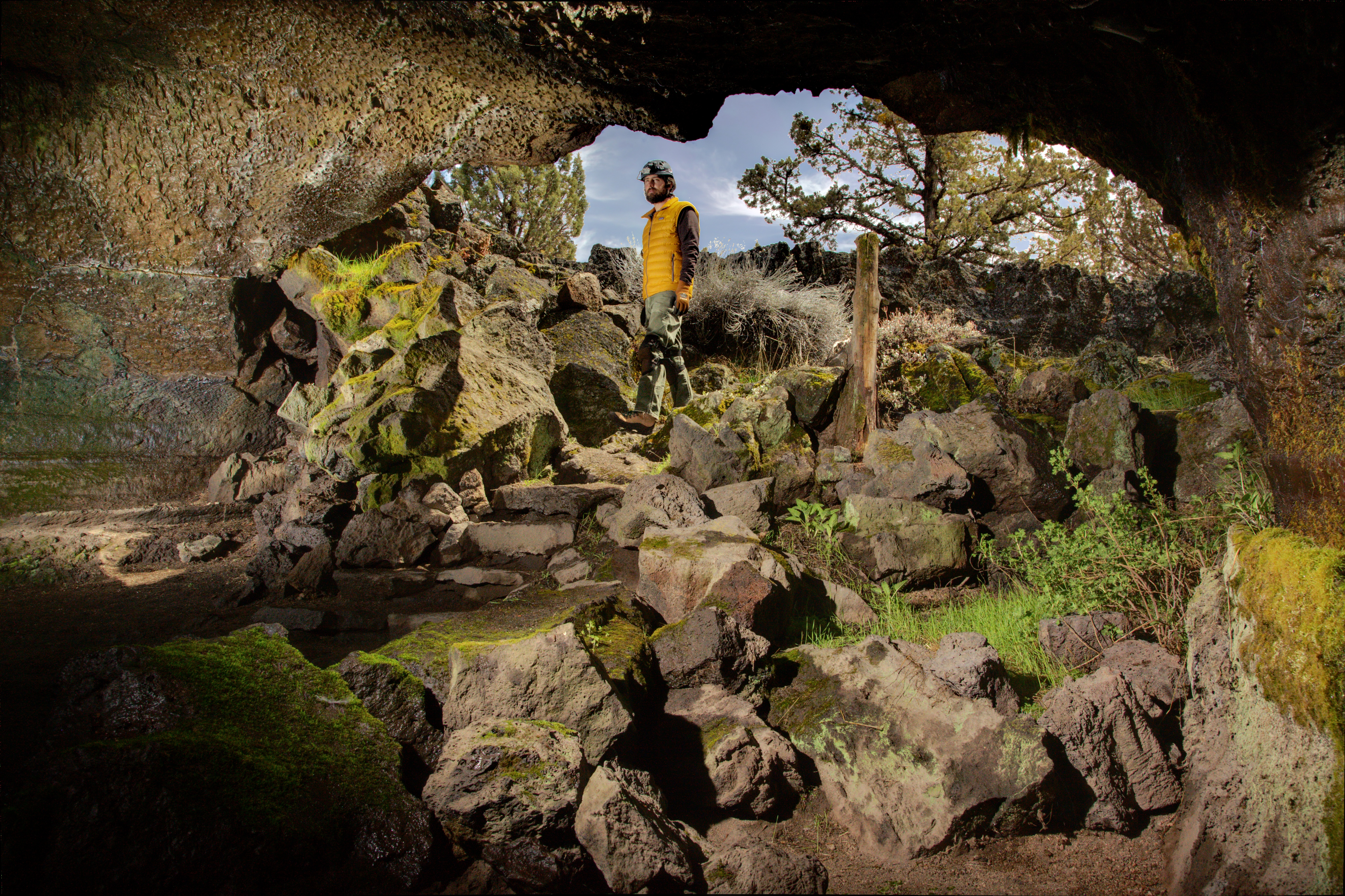 Caving Lava Beds National Monument US National Park