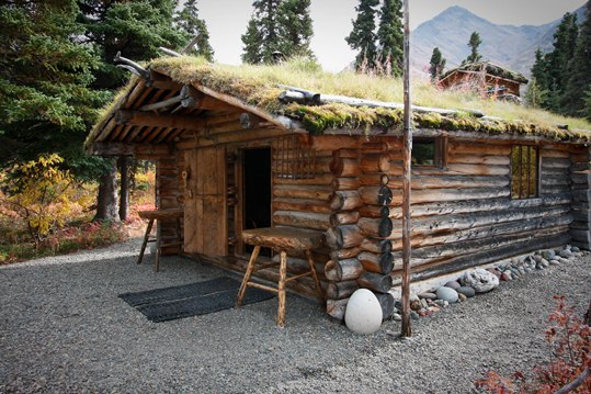 A virtual tour of dick proenneke 39 s cabin lake clark for Alaska cottage