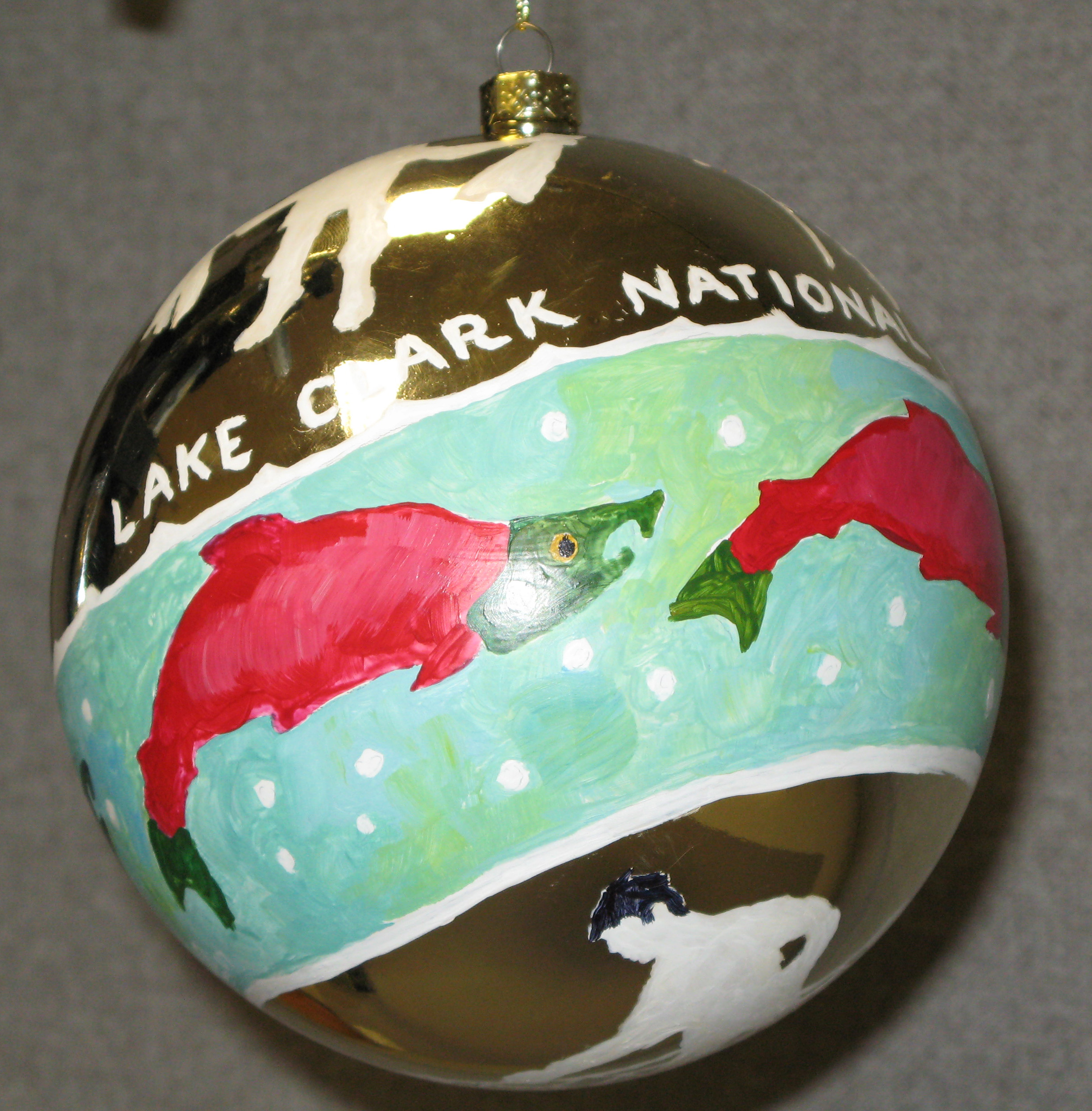LACL Christmas ornament