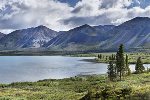 Lower Twin Lake Panorama