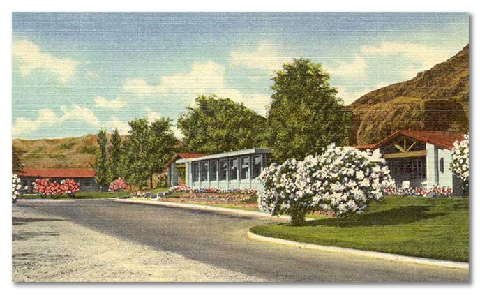 Lake Mead Lodge Postcard