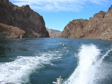 Cruising Lake Mohave