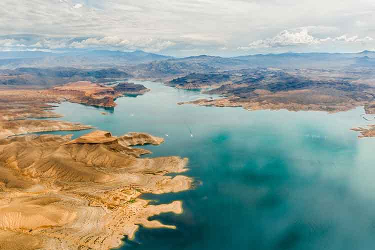 Inlets of Lake Mead