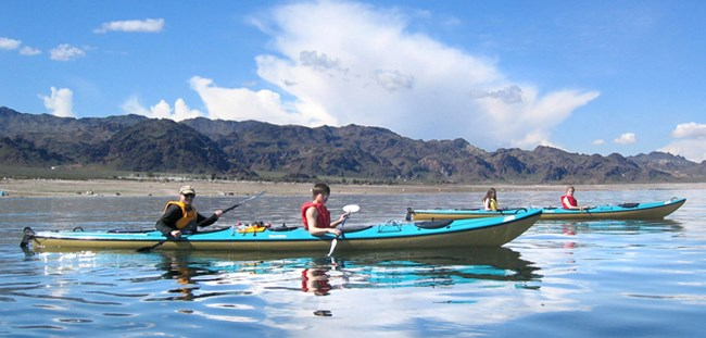 Non-Motorized Water Recreation - Lake Mead National