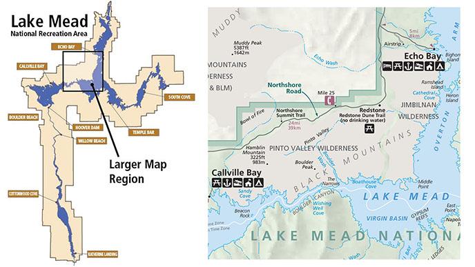 HamblinCleopatra Volcano Lake Mead National Recreation Area US