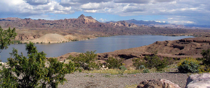Overview Of Lake Mohave Lake Mead National Recreation