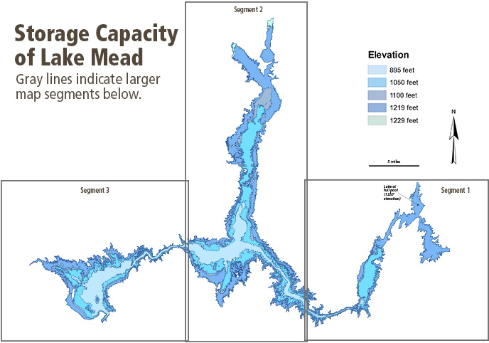Storage Capacity of Lake Mead Lake Mead National Recreation Area