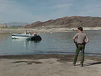Low water at Lake Mead