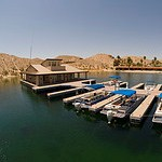 Cottonwood Cove marina services building, the first LEED registered building in the world