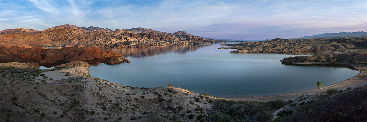 The shores of Lake Mohave