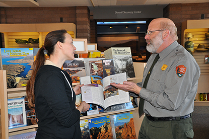 Park rangers will be stationed at the Alan Bible Visitor Center 9 a.m. to 4:30 p.m. seven days a week to share information about Lake Mead National Recreation Area.