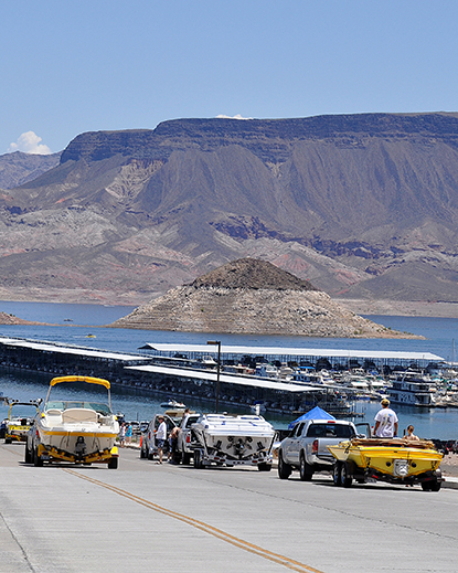 Lake Mead National Recreation Area, the fifth most visited unit of the National Park Service, has seen a 6.09 percent increase in visitation in 2013.