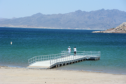 Boulder Beach Fishing Pier Re-Opened May 21, 2013.