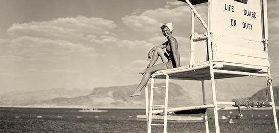 Historical photo of Boulder Beach