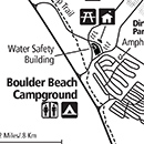 Photo of boulder beach area map