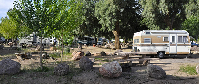 Lake Meads Campgrounds Lake Mead National Recreation Area US