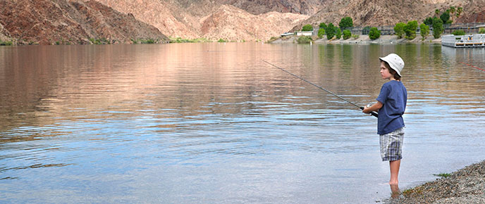 Fishing lake mead national recreation area u s for Fishing lake mead