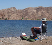 Fishing at Lake Mead National Recreation Area