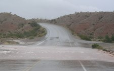 Flash Flood at Lake Mead National Recreation Area