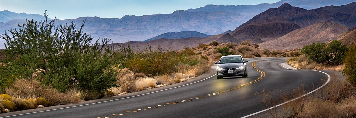Driving in Lake Mead Wilderness