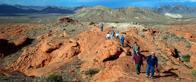 Hiking Lake Mead National Recreation Area US National Park Service
