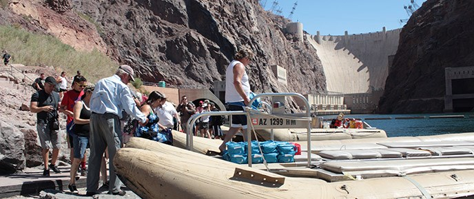 Boat Launch from Hoover Dam Permit - Lake Mead National Recreation