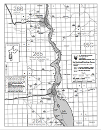 photo of mohave north hunting map