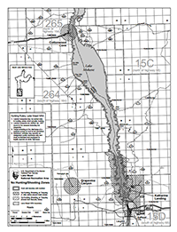 photo of mohave south hunting map