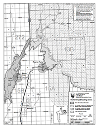 photo of pearce ferry hunting map